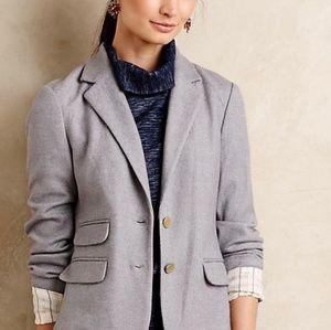 Anthropologie Cartonnier Gray wool Blazer 4